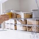 冷藏透明收納盒廚房食品儲物盒冰箱水果食物【極簡生活】
