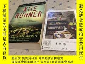 二手書博民逛書店英文原版罕見the kite runner 追風箏的人   Y181828 Khaleo Hosseini r