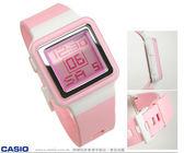 CASIO卡西歐LDF-20-4A 方形 多功能夜光 SHE Poptone系列 數字中性錶 電子錶 粉 LDF-20-4AVDR 女錶 學生錶