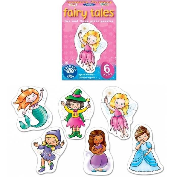 【英國Orchard Toys】幼兒大拼圖 童話系列 fairy tales