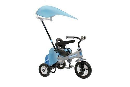 TRICYCLE MAGIC2 BLU+BARR VOLO MAGIC藍色神奇三輪嬰兒車[衛立兒生活館]