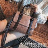 女手提包 手提包包女大容量韓版女包秋冬斜背包簡約百搭單肩小方包 歌莉婭