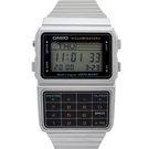 CASIO手錶 復古風計算機電子鋼錶NECE39
