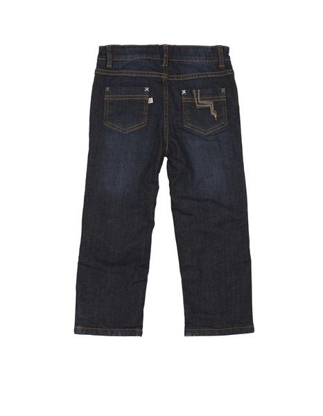 【英國Frugi】有機棉長褲 - 丹寧舖有機棉牛仔褲(可調式褲頭) JEA551DNM