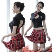 現貨出清 情趣內衣清純學生制服套裝sm情激情水手性感絲襪女警短裙角色扮演  4-3YXS