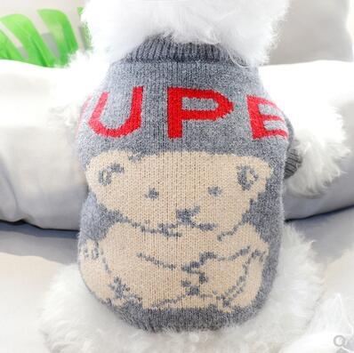 秋冬新款寵物毛衣貓咪比熊貴賓博美雪納瑞泰迪小型犬幼犬狗狗衣服