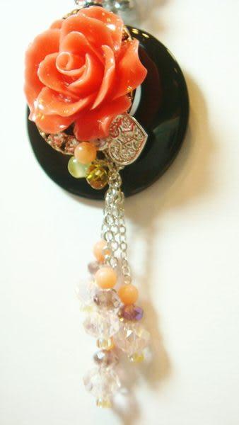 項鍊 Sabrina C.玫瑰之戀水晶