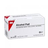 [全新公司現貨]3M nexcare 酒精棉片/五盒/Alcohol Pad/100片x5盒/708-100TW