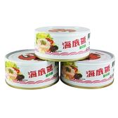 紅鷹牌海底雞鮮之味 150g*3【愛買】