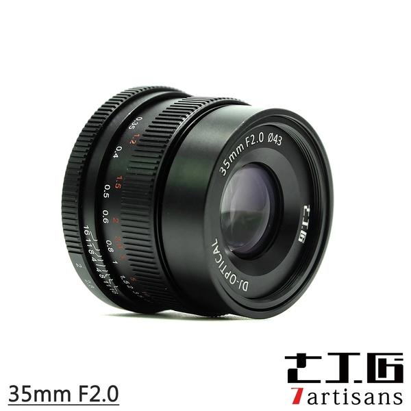 7artisans 七工匠 35mm F2.0 鏡頭 手動鏡頭 Sony E-mount A7 A6500 NEX FUJI FX 公司貨