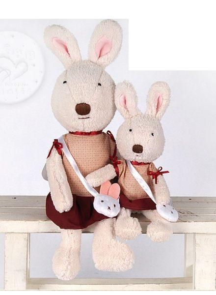 娃娃屋樂園~Le Sucre法國兔砂糖兔(小兔背包款)120cm1390元另有30cm45cm60cm90cm
