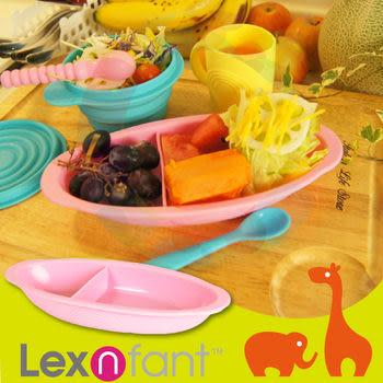 【出清促銷】Lexnfant 萊仕喀 矽膠嬰幼學習餐盤