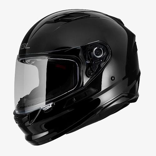 【東門城】SOL SF-6 素色(黑) 全罩式安全帽 雙鏡片 內墨鏡