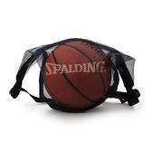 SPALDING 斯伯丁單顆裝網袋深藍(配件 球袋 籃球 足球 免運≡排汗專家≡