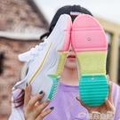 飛織鞋網紅飛織運動鞋女學生2021春夏新款女鞋韓版潮跑步小白鞋透氣單鞋 雲朵走走