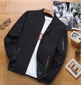 男士外套秋冬季新款韓版潮流修身帥氣工裝加絨加厚中長款風衣