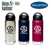 Klean Kanteen 保溫鋼瓶K16VWSSL Ternua 聯名款16oz 473ml 城市綠洲水壺、水瓶、不銹鋼瓶