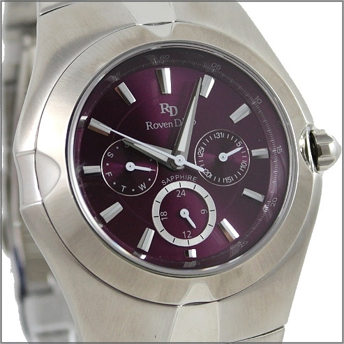 【萬年鐘錶】 Roven Dino 羅梵迪諾 楊丞琳代言 三眼紫大 RD9801