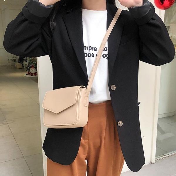 側背包 女包2020新款韓版單肩斜挎小包包學生百搭少女小方包