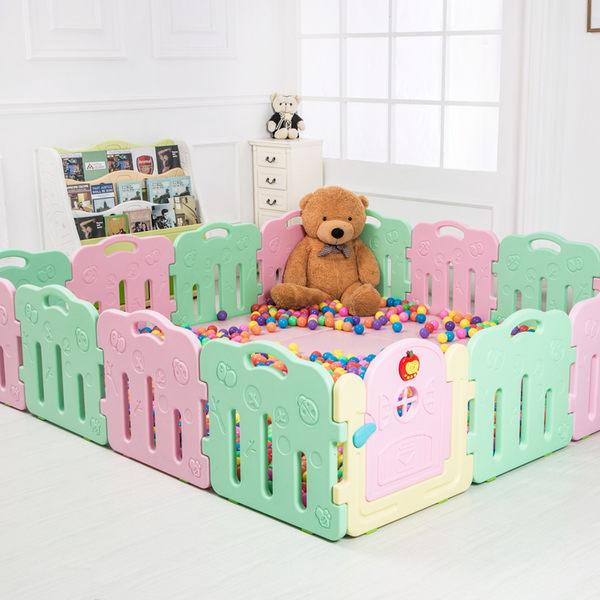 早教中心寶寶爬行墊嬰兒拼接游戲爬爬墊兒童加厚折疊墊子地墊家用 居享優品