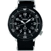 限量 SEIKO精工 Prospex 4R35復古軍風手錶-黑/44mm V157-0CJ0SD(SBDJ027J)