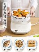 小熊腸粉機家用小型迷你多功能廣東腸粉蒸機蒸盤抽屜式早餐河粉機 雙十二全館免運