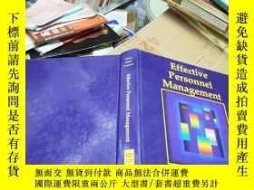 二手書博民逛書店Effective罕見Personnel ManagementY