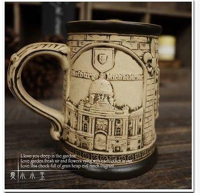 【奧地利維也納】陶瓷德國啤酒杯創意