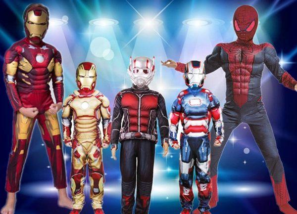 衣童趣♥ 萬聖節 英雄造型 兒童表演服裝 肌肉蟻人 角色扮演 Cosplay 派對服 幼兒園變裝