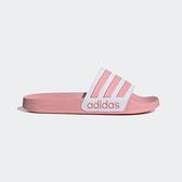 Adidas Adilette Shower [EG1886] 女鞋 運動 涼鞋 拖鞋 休閒 舒適 輕量 愛迪達 粉白