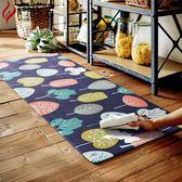 地墊筷子簍廚房地墊防滑墊子防油防水腳墊地毯PVC家用簡約長條廚房防滑【八五折限時免運直出】