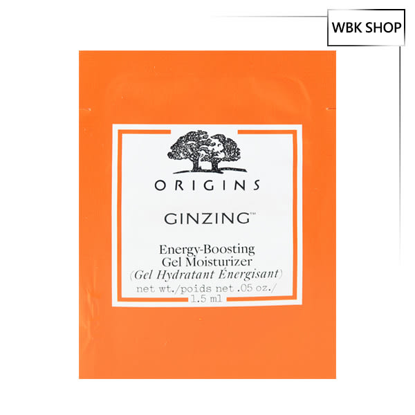 Origins 品木宣言 元氣十足亮膚水凝乳 1.5ml GinZing Gel Moisturizer - WBK SHOP