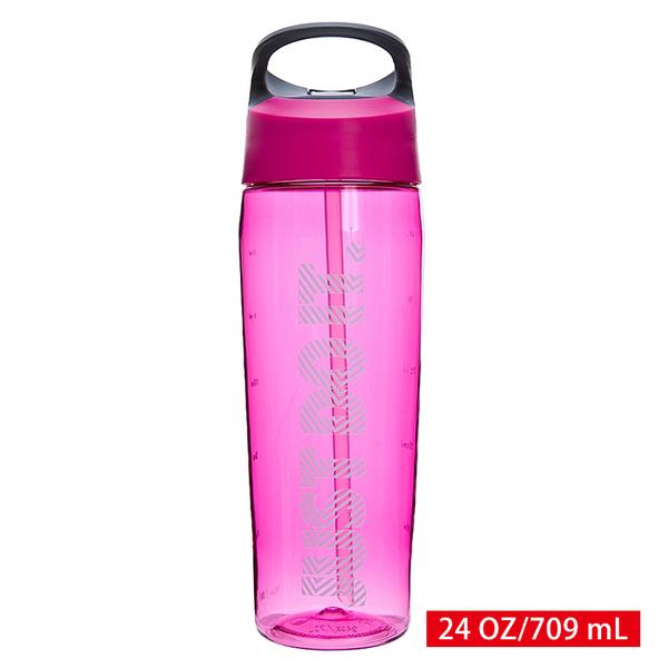 NIKE 運動水壺 冷水瓶 環保杯 HYPERCHARGE 吸管式水壺 24 OZ/709 mL NOBE3 【樂買網】