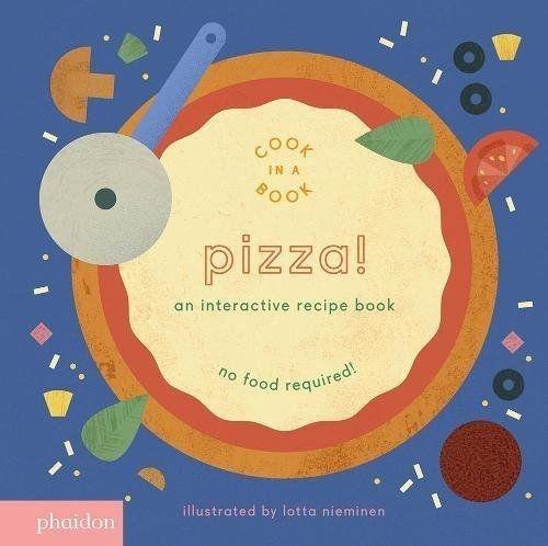 Pizza! An Interactive Recipe Book 來做披薩!互動式食譜操作書