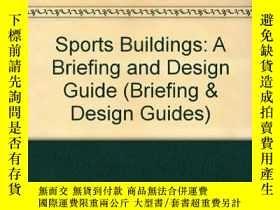 二手書博民逛書店Sports罕見Buildings: A Briefing an