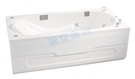 【麗室衛浴】BATHTUB WORLD 長型壓克力浴缸 LS-7185F 帶牆 180*85*55cm