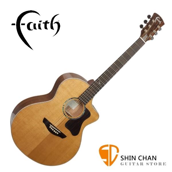 Faith 英國名牌 FG1NC-NPX 41吋 全單板 民謠吉他 附贈吉他硬盒 CASE 印尼製【型號:FG1NC-NPX】