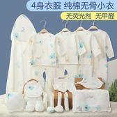 滿月禮盒 嬰兒衣服純棉新生兒禮盒套裝0-3個月6初生剛出生寶寶用品 魔法空間