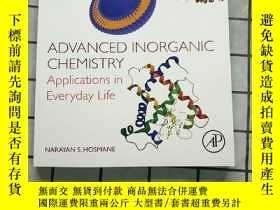 二手書博民逛書店Advanced罕見Inorganic Chemistry: Applications in E Y26822