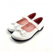 簡約氣質 蝴蝶結 亮面公主鞋《7+1童鞋》C662 白色(畢業季 合唱團 花童)