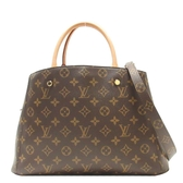 LOUIS VUITTON LV 路易威登 原花手提肩背2WAY包 MONTAIGNE MM  M41056 【BRAND OFF】