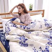[SN]#L-UB016#細磨毛雲絲絨3.5x6.2尺單人床包+枕套二件組-台灣製/天絲絨(不含被套)
