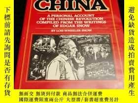 二手書博民逛書店Edgar罕見Snow s China: A Personal