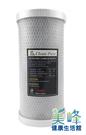 台灣製造CLEAN PURE品牌10英吋大胖壓縮活性炭濾心通過SGS認證CTO,只賣500元