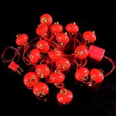燈籠-燈籠春節過年新年喜慶大紅燈籠小紅燈籠戶外聖誕樹發光LED燈籠串  東川崎町