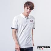 Big Train 赤青翅膀POLO衫-男-白色-B8058281
