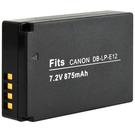 Kamera Canon LP-E12 高品質鋰電池 EOS M EOS M2 EOS 100D EOS M100 保固1年 LPE12 可加購 充電器