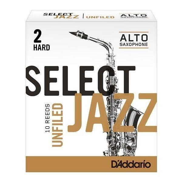 【金聲樂器】美國RICO Select Jazz Alto Sax中音薩克斯風 2號竹片 HARD 2H