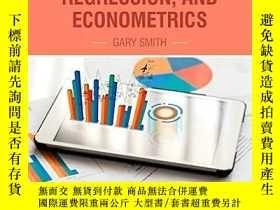 二手書博民逛書店Essential罕見Statistics, Regression, And EconometricsY255