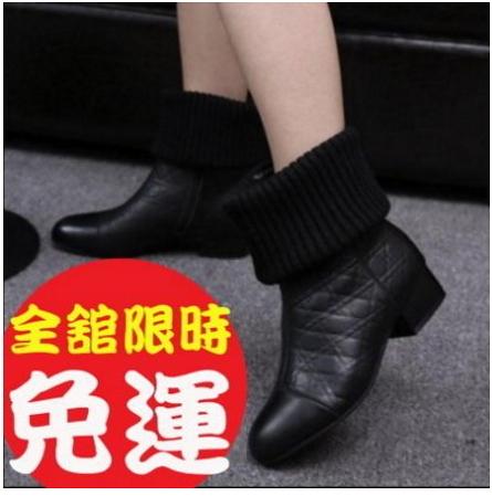 短靴女靴馬丁靴平底短靴中筒靴厚底靴軍靴機車靴雪靴女鞋休閒鞋1色100n81【Brag Na義式精品】